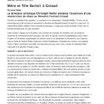 thumbnail of Le Temps Mère et fille Bartoli à Gstaad1